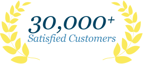 30,000 Satified Customers