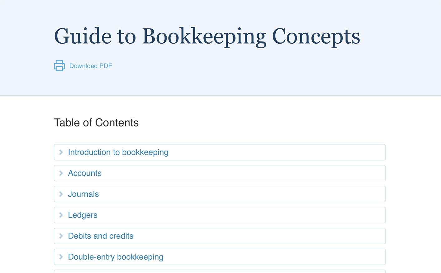 Free Online Bookkeeping Course And Training Accountingcoach