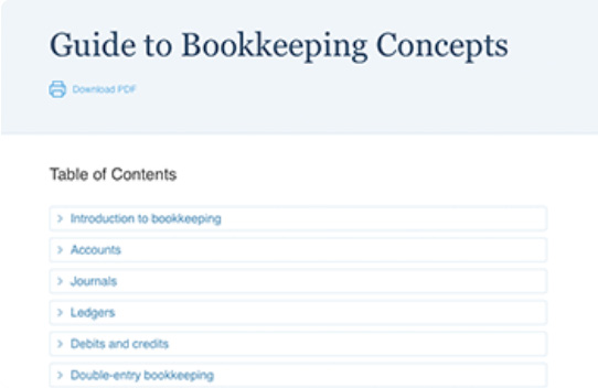 free online bookkeeping course and training | accountingcoach