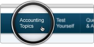 Click Accounting Topics in Main Menu