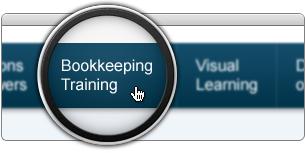 Click Bookkeeping Training in Main Menu
