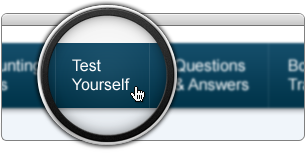 Click Test Yourself in Main Menu