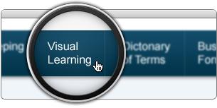 Click Visual Learning in Main Menu