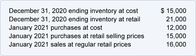 Inventory and Cost of Goods Sold Quiz and Test | AccountingCoach